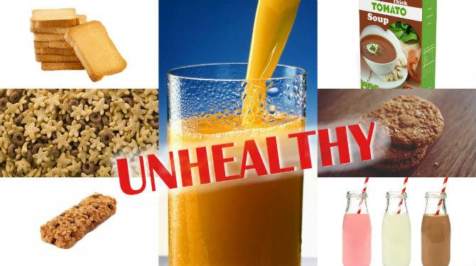 11 Worst Healthy Foods