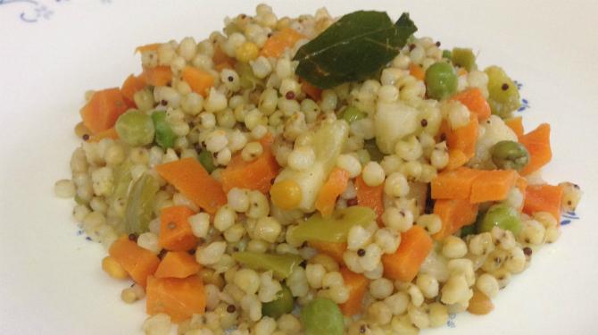 Spicy Sorghum ( Jowar ) Bowl Recipe - source of healthy nutrients