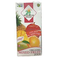 24 Letter Mixed fruit juice