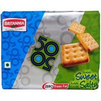 Britannia 50 50 Sweet Salt
