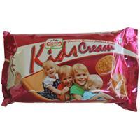 Priyagold Kids Cream Strawberry flavoured sandwich biscuits