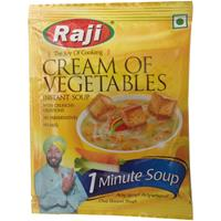 Raji Cream of Vegetables Instant soup